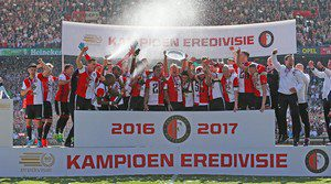 Feyenoord landskampioen speelt champions league