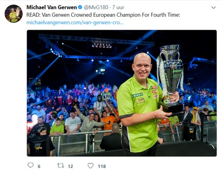 Wint Michael Van Gerwen ook World Series of Darts