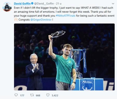 Davis Cup Finale 2017 Frankrijk - België met David Goffin