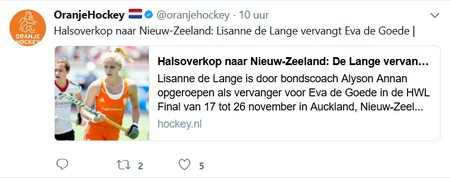 Winnen de hockeyvrouwen de Hockey World League 2016-2017