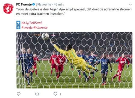 8e finales KNVB Beker FC Twente - Ajax