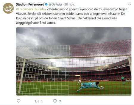 Wint Feyenoord weer eens in de Kuip bij Feyenoord - Vitesse