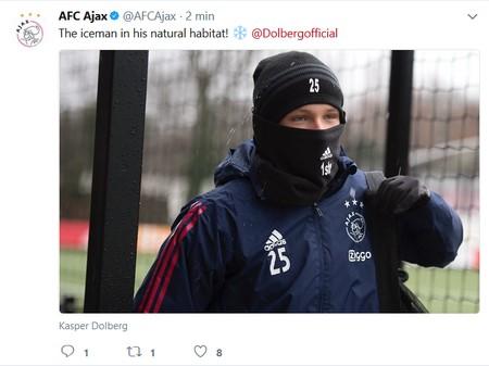 iceman voor Ajax - PSV