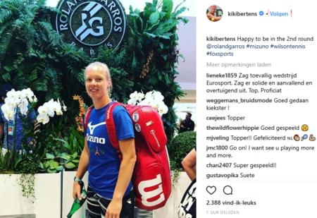 wint Kiki Bertens Roland Garros 2018