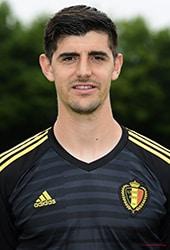 Thibaut Courtois sleutelspeler in winst België WK Voetbal 2018