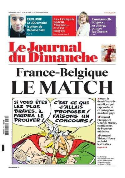 Wereldkampioen 2018 Frankrijk of Belgie