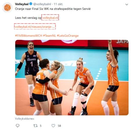 Winnen Nederlandse vrouwen het WK Volleybal 2018