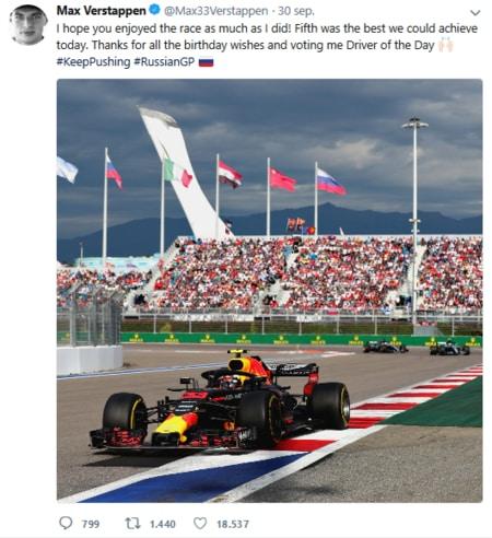 Wint Max Verstappen de Grand Prix van Japan na succes in Rusland