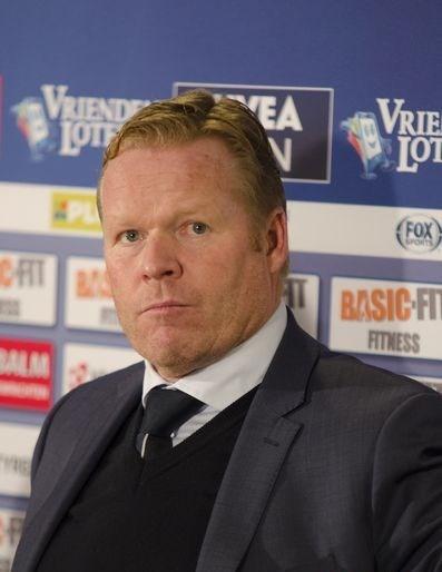 ronald koeman prominnt op de sportkalender 2020 met het EK voetbal foto wikimedia commons
