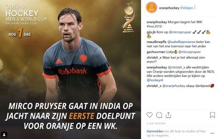 Wint Nederland weer eens het WK hockey voor mannen in 2018?
