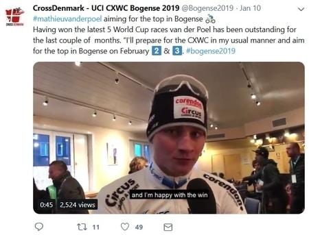 wint Mathieu van der Poel WK Veldrijden 2019