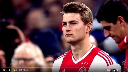 pre-movie Kwartfinales Champions League Ajax-Juventus