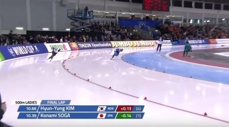 screenshot WK afstanden schaatsen